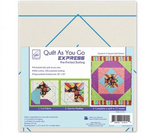 Quilt As You Go Express - Square In A Square Quilt Pattern